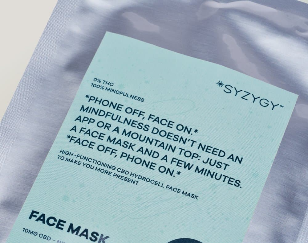 SYZYGY CBD Face Mask